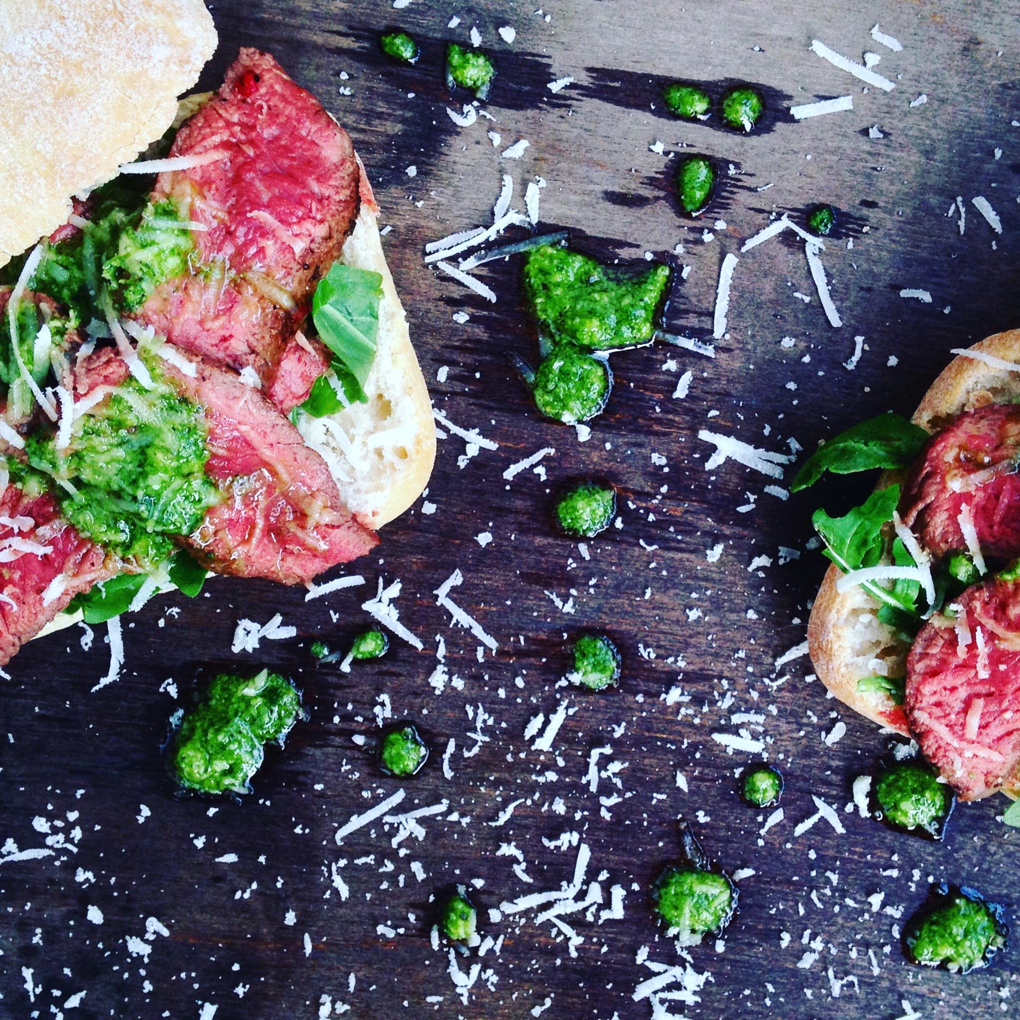 biefstuk sandwich