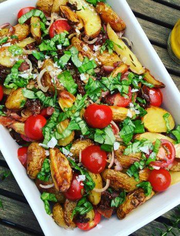 Italiaanse maaltijd salade