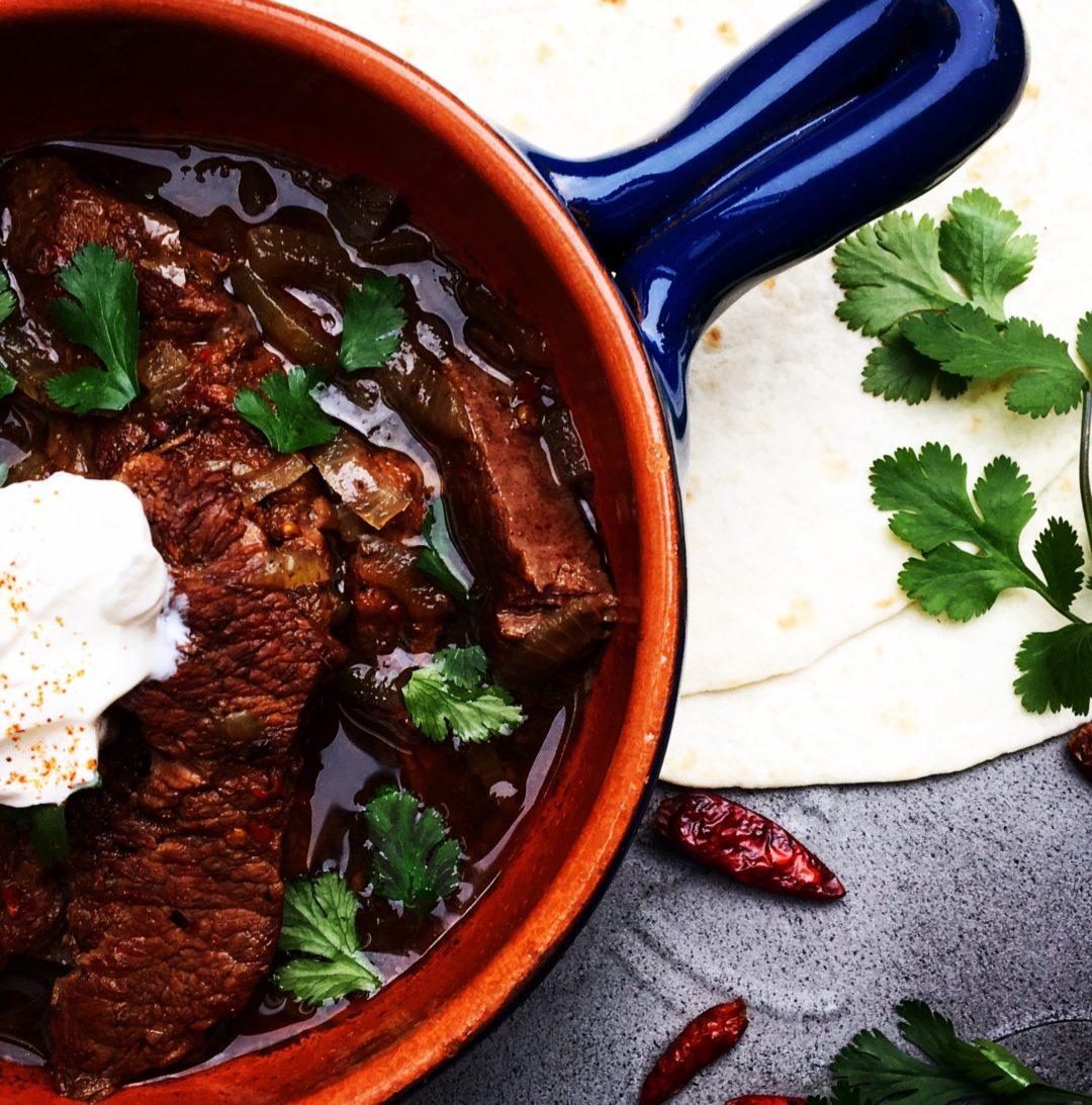 Mexicaans stoofvlees Birria de Res