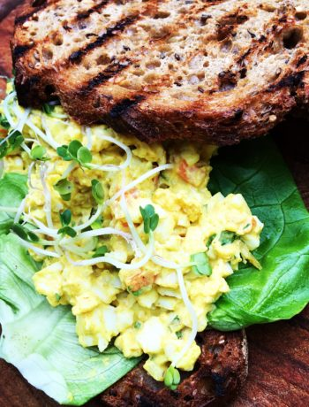 Surinaamse eiersalade in 10 minuten