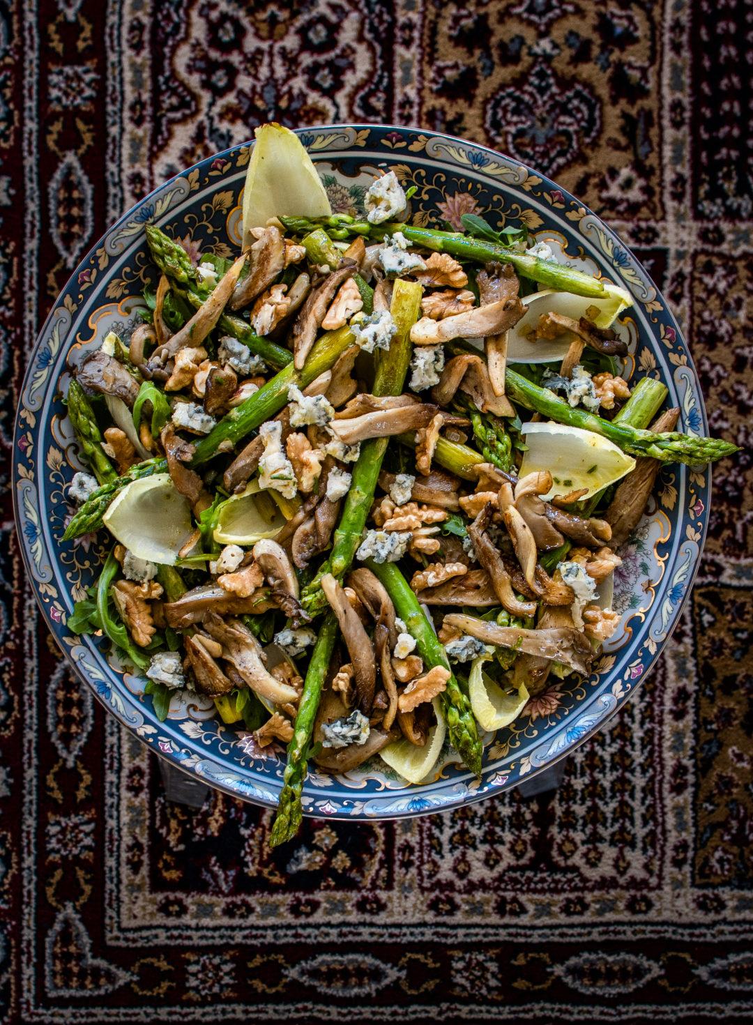 salade van oesterzwam